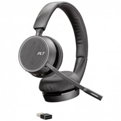 Auricular plantronics voyager 4220 uc biaural com microfone usb-a