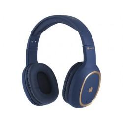 Auricular ngs artica pride bluetooh com microfone diadema ajustavel cor azul