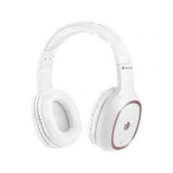 Auricular ngs artica pride bluetooh com microfone diadema ajustavel cor branco