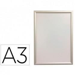 Moldura porta anuncios q-connect din a3 moldura de aluminio 32