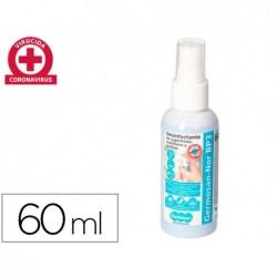 Liquido de limpeza higienizante desinfetante germosan nor bp3 para superficies e mobiliario frasco pulverizador de 60 ml