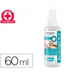Gel hidroalcoolico higienizante g3 para limpeza e desinfecaodas maos sem necessidade de enxaguar frasco de 60 ml