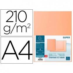 Classificador cartolina com 2 abas exacompta din a4 gama super crema 210 gr
