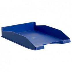 Tabuleiro de secretaria archivo 2000 antimicrobiana sanitized plastico azul empilhavel 3 posicoes para formatos din a4 e