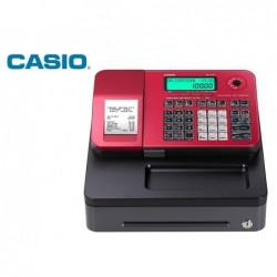 Registadora casio se-s100 vermelha 24 departamentos display lcd gaveta pequena