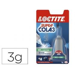 Cola loctite 3 gr adesiva instantanea gel gota a gota