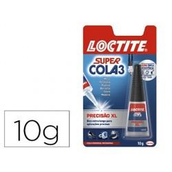 Cola loctite 10 gr super cola 3 precisao max