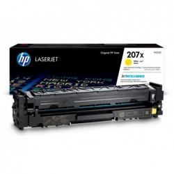 Toner hp 207x cor laserjet pro m282nw / m283fdn / m283fdw amarelo 2.450 paginas