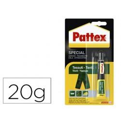 Cola pattex instantanea especial textil 20 gr