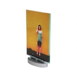 Expositor secretaria deflecto metacrilato din a4 vertical giratorio 215x328x65 mm