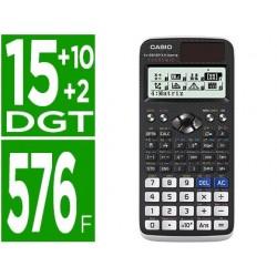 Calculadora casio fx-991spx ii classwizz cientifica 576 funcoes 9 memorias 15+10+2 digitos codigo qr com capa preta