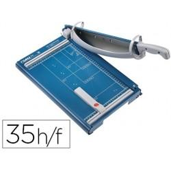 Cisalha dahle profissional premium 561 de alavanca din a4 metalica capacidade de corte 35 folhas