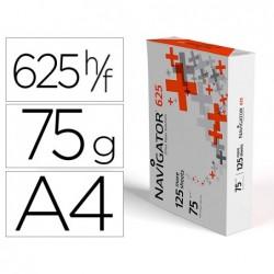 Papel fotocopia navigator 625 din a4 75 gr pack de 125 folhas