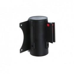 Fita extensivel de parede separadora retratil de 3 mt clips em ambos lados e clip dereceção cor preto