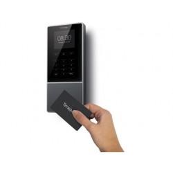 Controlador de presenca safescan tm-616 com codigo pin ou cartao rfid ate 200 usuarios conexao internet e wifi porta usb