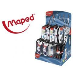 Compasso maped expositor de 40 unidades sortidas