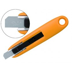 Cuter olfa mini plastico cuchilla ancha 12