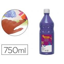 Pintura a dedos jovi 750 ml violeta