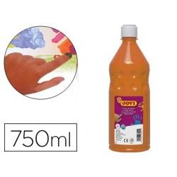 Pintura a dedos jovi 750 ml laranja
