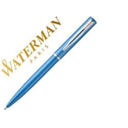 Esferografica waterman allure lacada azul em estojo de oferta