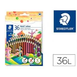 Lapis de cores staedtler wopex ecologico 36 cores en caixa de cartao
