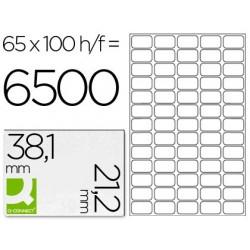 Etiquetas adesivas q-connect din a4 38