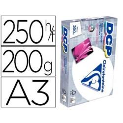 Papel fotocopia clairefontaine din a3 200 gr pack de 250 folhas