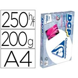 Papel fotocopia clairefontaine din a4 200 gr pack de 250 folhas