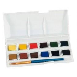 Aguarela daler rowney simply 12 cores sortidas