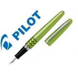 Caneta pilot urban mr retro pop verde claro com estojo