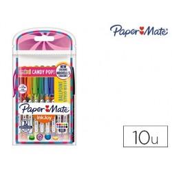 Esferografica paper mate inkjoy 100 candy pop blister de 20 unidades cores sortidas