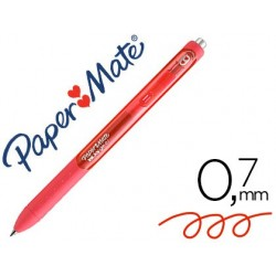 Esferografica paper mate inkjoy gel 600st vermelho