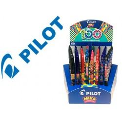 Expositor pilot 100 aniversario edicao limitada 48 unidades surtidas frixion ball + frixion clicker