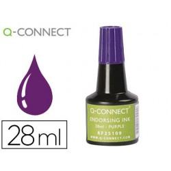 Tinta para almofada q-connect violeta frasco 28 ml