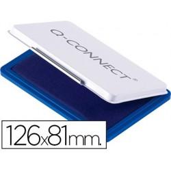 Almofada para carimbo q-connect 126x81 mm azul