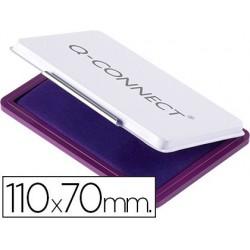 Almofada para carimbo q-connect 110x70 mm violeta