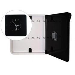 Armario plastico porta chaves paperflow para 12 chaves 320x60x320 mm preto