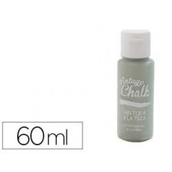 Pintura de acrilico vintage chalk efeito giz verde eucalipto vc-16 boiao de 60 ml