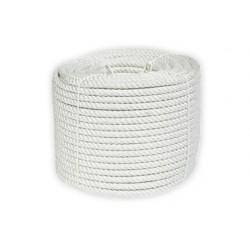 Corda nylon branco rolo de 500 gr