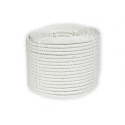 Corda nylon branco rolo de 250 gr