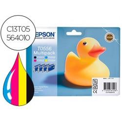 Tinteiro epson t0556 stylus photo rx420 pack multicolor