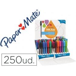 Esferografica paper mate inkjoy 100 ponta media expositor de 250 unidades