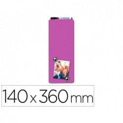 Quadro rexel magnetico 140x360 mm cor roxa